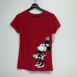 Disney Parks Womens Minnie Mouse Tee  Size S